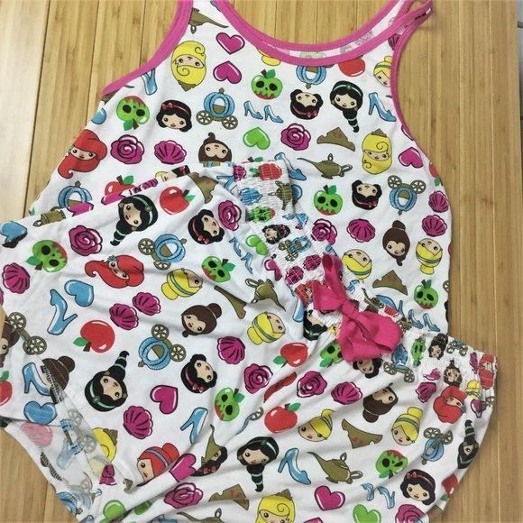 Disney LILO AND STITCH Cami Vest Top /& Shorts  Pyjama Pjs Set